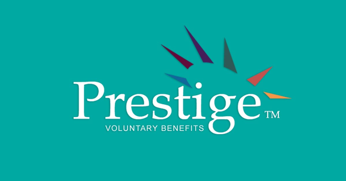 voluntary benefits prestige logo